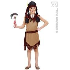 Indianen pakje meisje