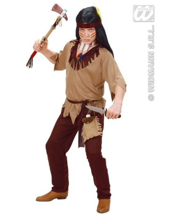 Indianen pakje jongen 4-delig