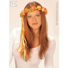 Bloemenkroon met lint 2