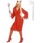 Vurige Duivelin Kostuum Vrouw
