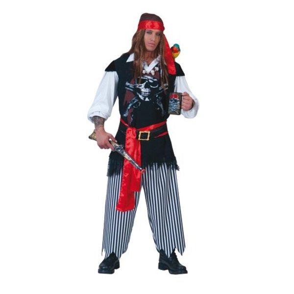 Piratenkostuum Sailor 4-delig