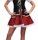 Schots kostuum vrouw