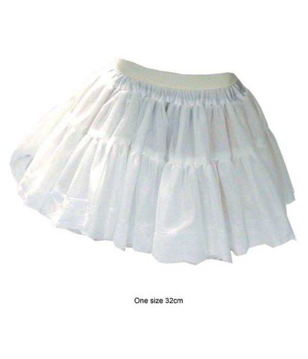 Petticoat extra volume wit