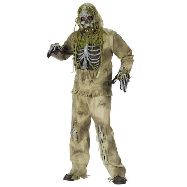 Skeleton Zombie kostuum