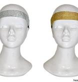 Haarband glitter goud/zilver