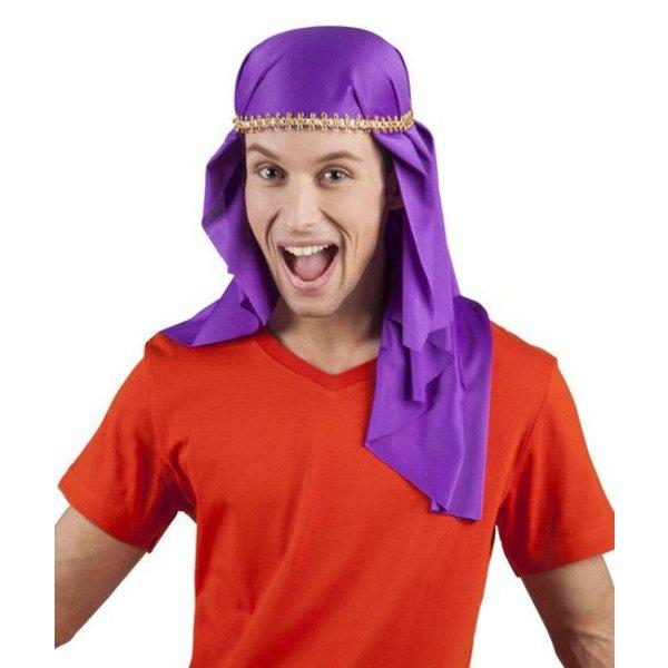 Sjeik hoed paars