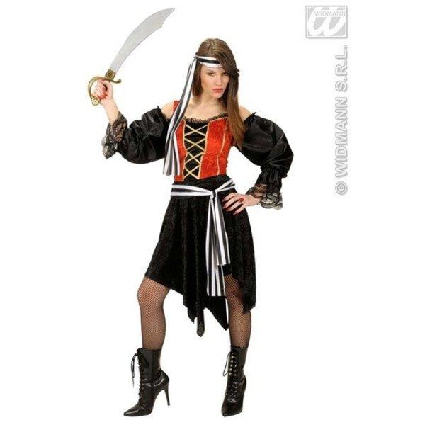 Boekanier vrouw kostuum