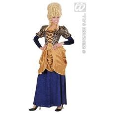 Markiezin kostuum elegant fluweel