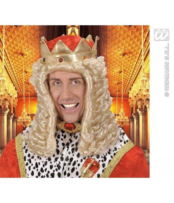 Pruik koning Louis 14e