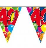 Vlaggenlijn leeftijd '40'