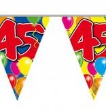Vlaggenlijn leeftijd '45'