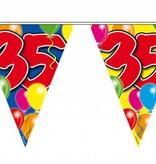 Vlaggenlijn leeftijd '35'