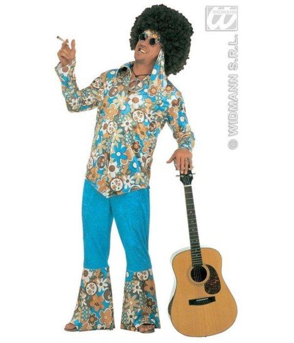 Hippie Flower Power kostuum XXL Luxe