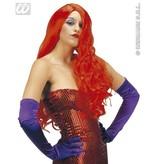 Pruik rood Jessica