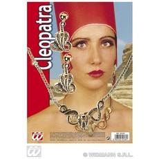 Cleopatra set ketting met oorbellen