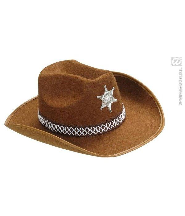 Hoed Sheriff kind bruin Deluxe