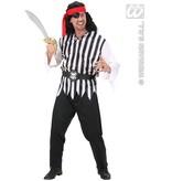 Piraat man kostuum Sam Scarr