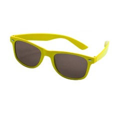 Bril Blues Brothers Neon Yellow