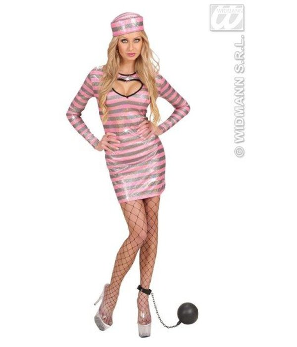 Sexy gevangene kostuum dames
