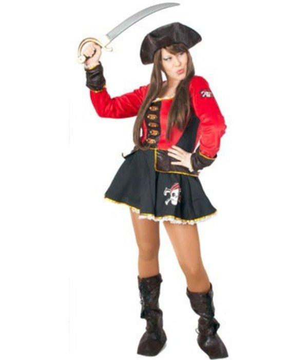 Sexy Piraten vrouw 3-delig