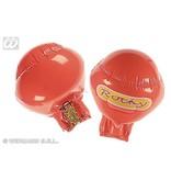 Opblaasbare bokshandschoenen rood