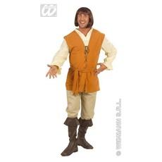 Middeleeuwse Boer kostuum