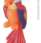 Opblaasbare papegaai 60 cm