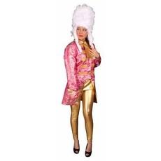 Brocaat op chique jas pink/goud dames