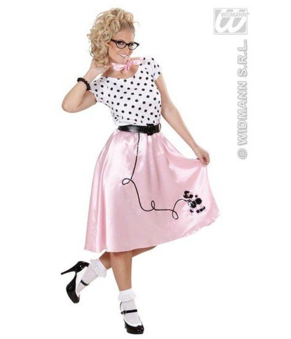 Poedelmeisje 50's kostuum