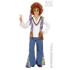Hippie kostuum jongen Woodstock