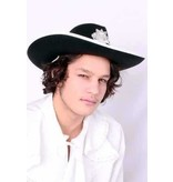 Cowboyhoed zwart Cody