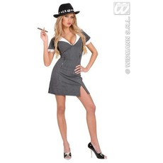 Sexy Gangster kostuum dame