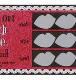 Set van 6 kraskaarten Girls Nigt Out