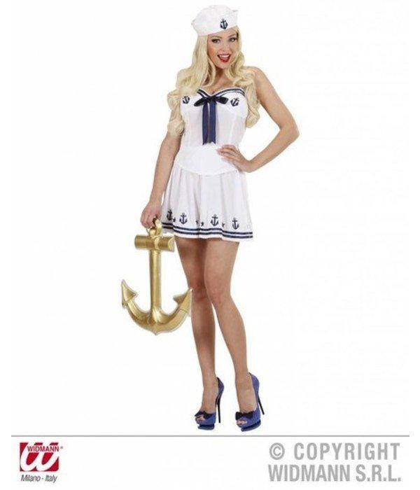 Marine meisje kostuum