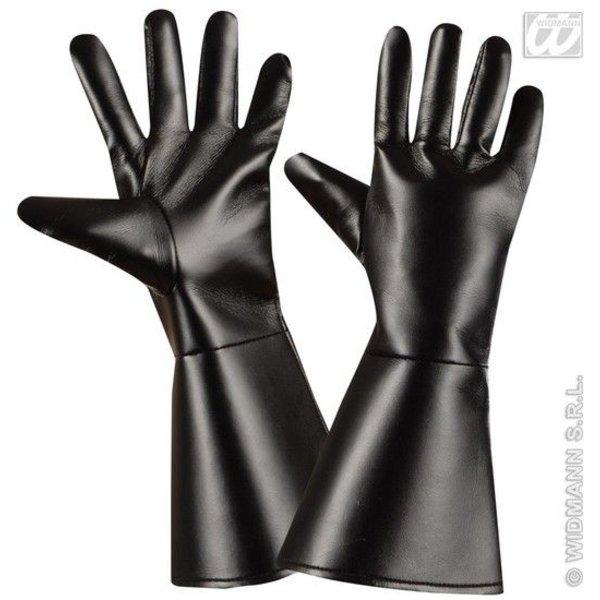 Handschoenen Lederlook volwassen