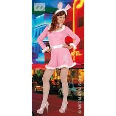 Pink Bunny roze kostuum