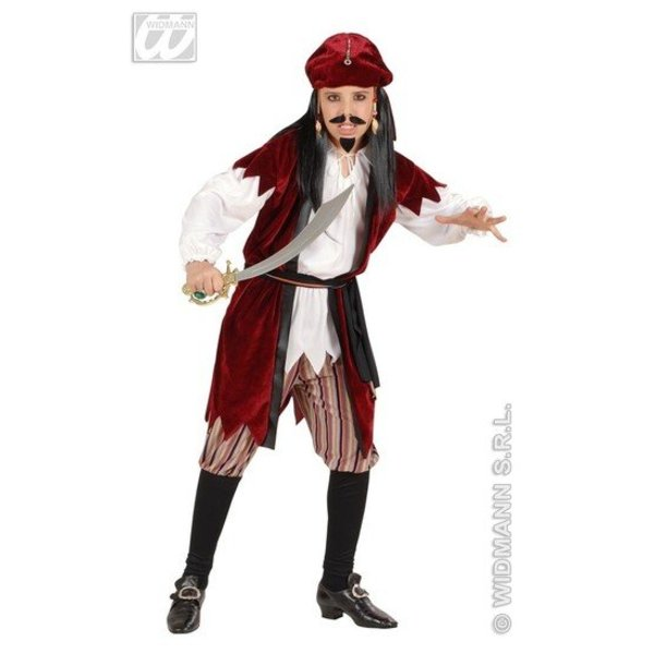 Piratenjongen Jack Sparrow kostuum