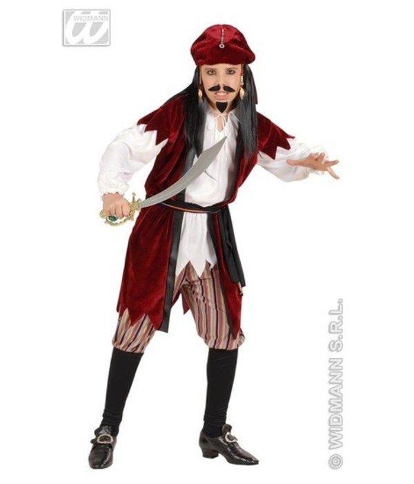 Piratenjongen Jack Sparrow kostuum