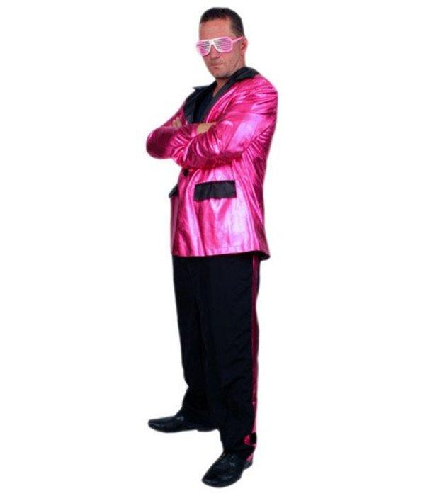 Partykostuum Pink Shiny