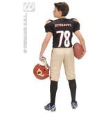 Quaterback Football kostuum kind