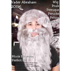 Abraham pruik + baard
