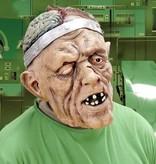 Masker hersenoperatie met pruik