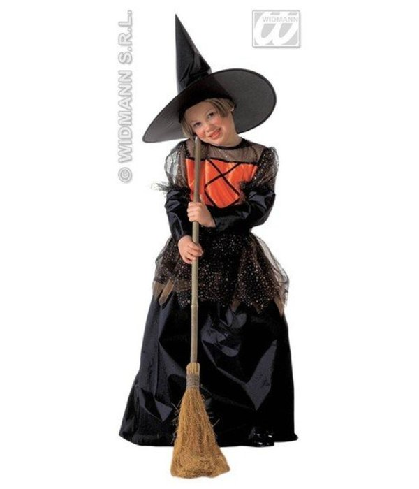 Kleine lieve heks kostuum kind