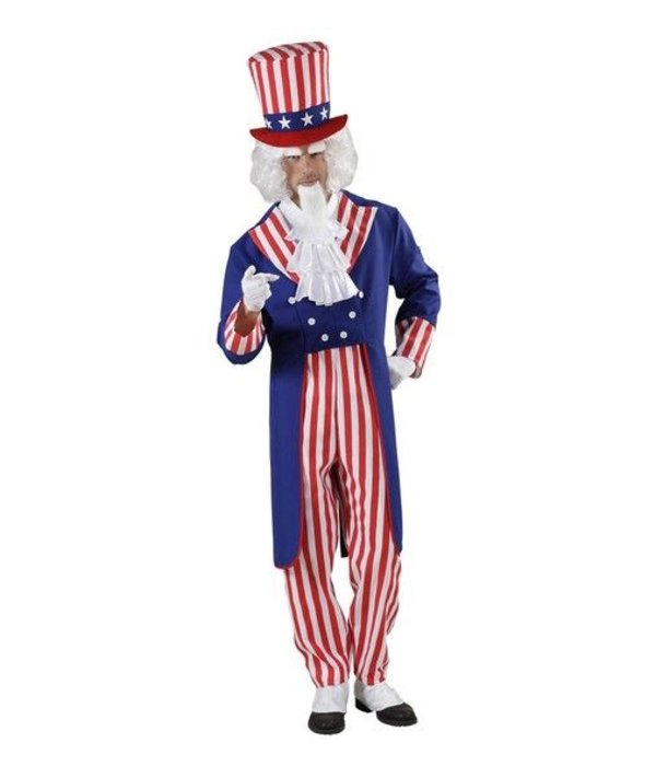 America Uncle Sam kostuum
