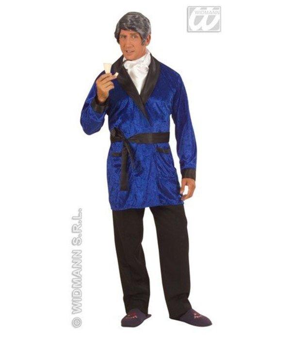 Playboy kostuum Hefner blauw