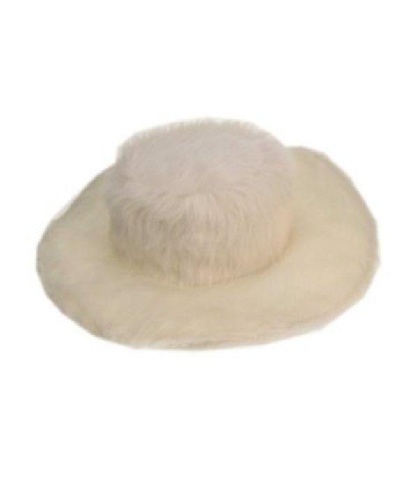 Pimphoed wit bont