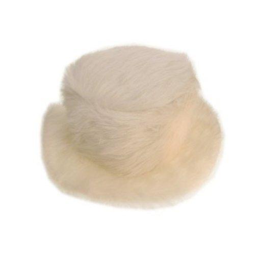 Pimphoed wit bont hoog model