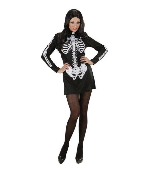 Skelet Jurk meisje