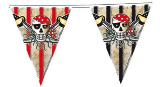 Piratenvlag - Versiering