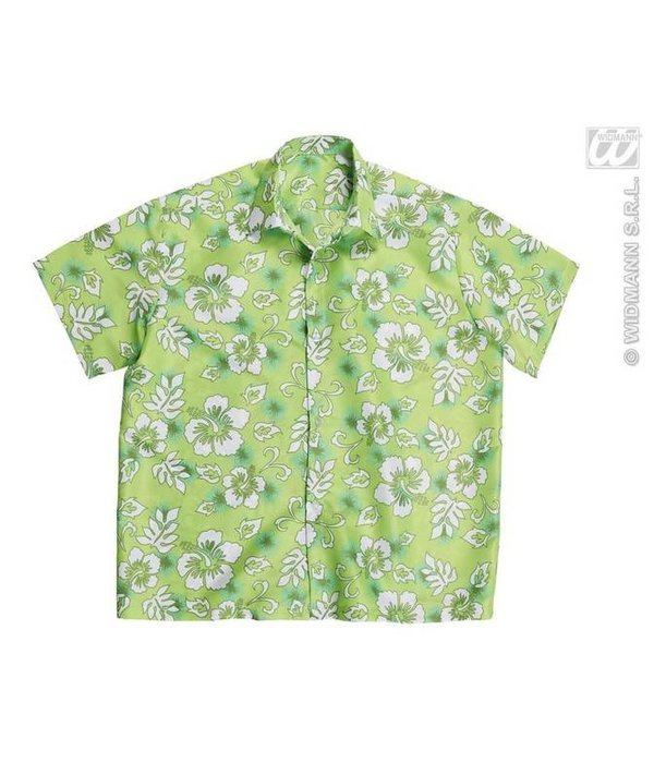 Hawaii shirt groen
